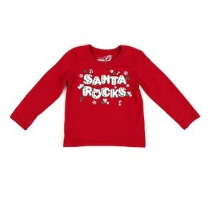 THE CHILDREN'S PLACE Xmas shirt, size 4T